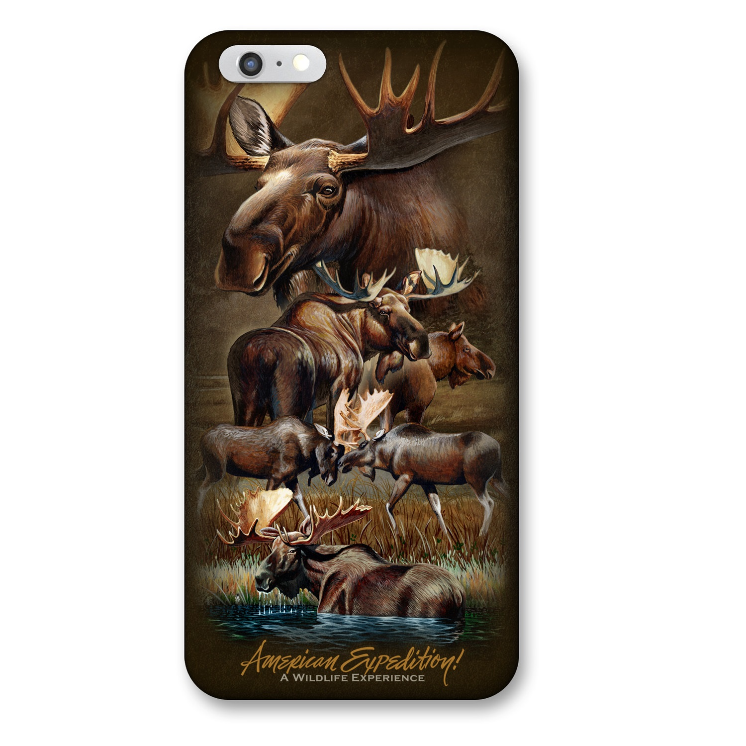 American Expedition iPhone 6 Cover - Moose Collage