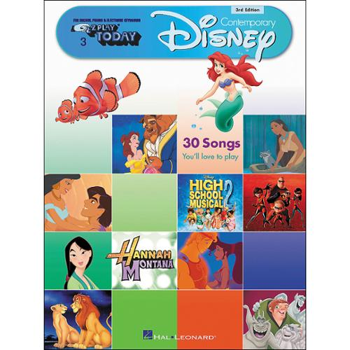 Hal Leonard E-Z Play Today #3 Contemporary Disney