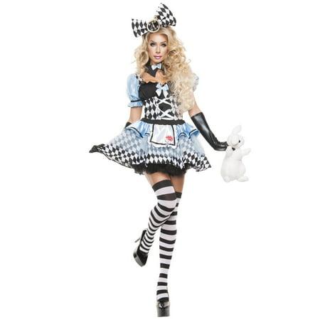 Women's Glam Alice Costume - image 1 de 1