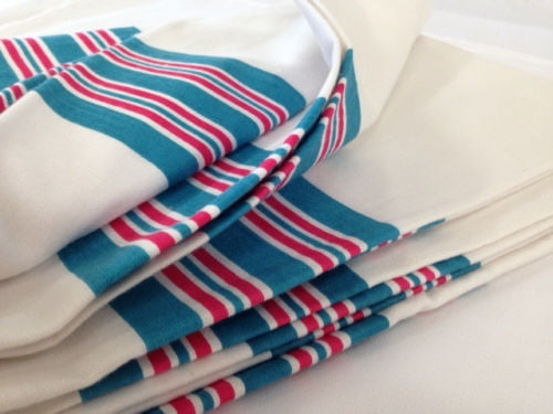 12 NEW BABY INFANT RECEIVING SWADDLING HOSPITAL BLANKETS LARGE 30/'/'X40/'/' STRIPED