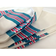 12 Pieces NEW BABY INFANT RECEIVING SWADDLING HOSPITAL BLANKETS LARGE 30''X40'' STRIPED