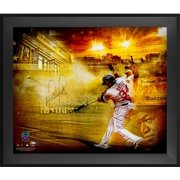 """David Ortiz Boston Red Sox Framed Autographed 20"""" x 24"""" 2016 Retirement Titans of the Game Photograph - Fanatics Authentic Certified"""