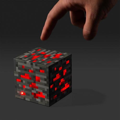 Minecraft Redstone Ore Nightlight by Generic