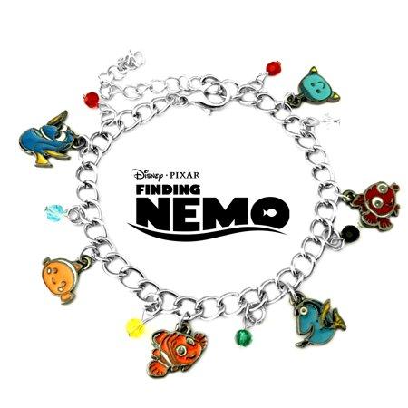 Finding Nemo Disney Classic Cartoon Charm Bracelet Finding Nemo Disney Classic Cartoon Charm Bracelet