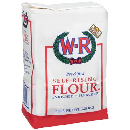 W-R: Flour Self-Rising Enriched Bleached Pre-Sifted Baking Supply, 5