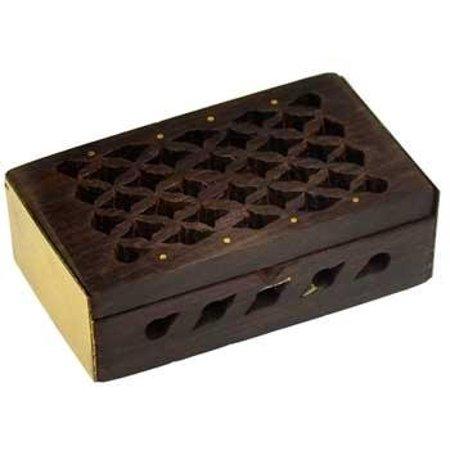 Rosewood Filigree box *