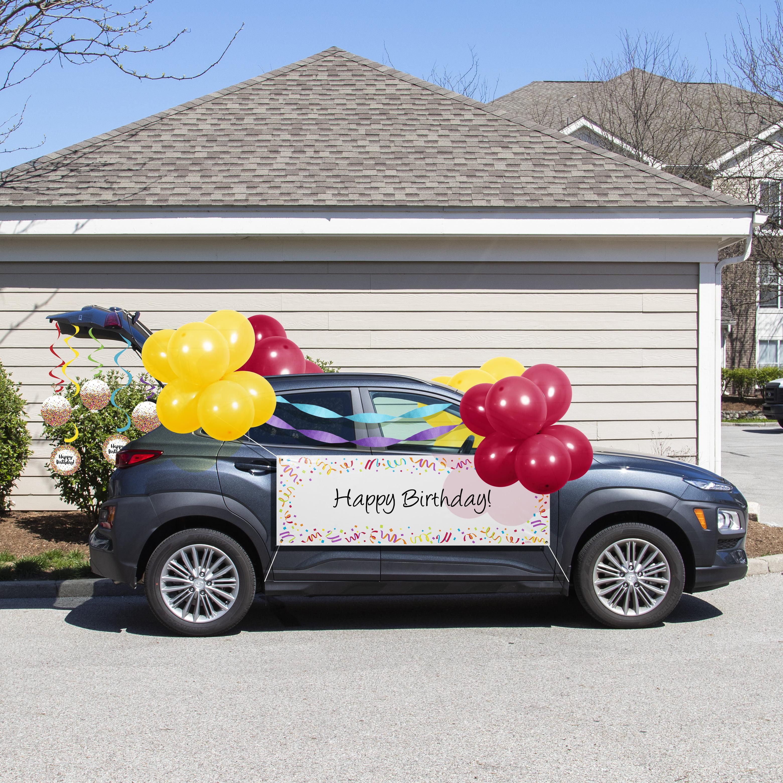 Birthday Parade Car Decorations Kit - Walmart.com ...