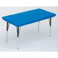 Small Rectangular Activity Table in Blue (Short/Blue)