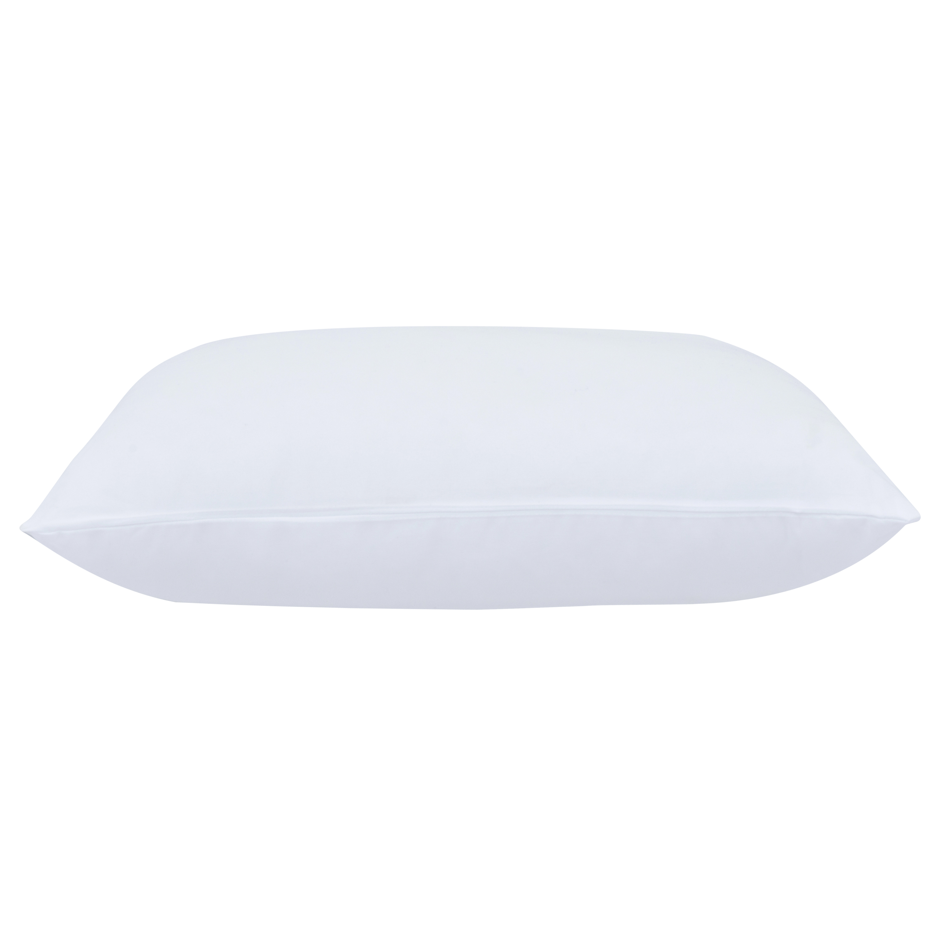 """Mainstays 100 Percent Polyester Travel Pillow 14"""" x 20"""" in White"""