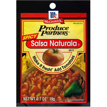 Produce Partners Spicy Salsa Naturala, 0.7 oz (Pack of (Best Spicy Salsa Brand)