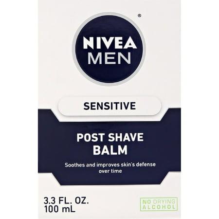- NIVEA FOR MEN Sensitive Post Shave Balm 3.30 oz (Pack of 2)