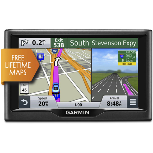 Refurbished Garmin Nuvi 57LM (Lower 48 States) 5 Inches GPS Navigator System w/ Free Lifetime Map Updates