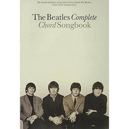 Guitar Chord Songbook Book - Hal Leonard The Beatles Complete Guitar Chord Songbook