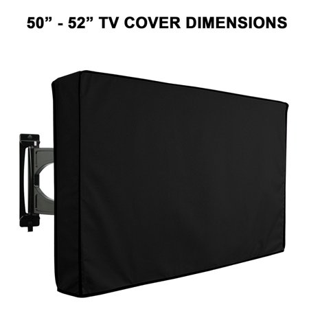 Outdoor TV Covers WITH BOTTOM COVER The Weatherproof And Dust-Proof Material (Television Dust Cover)