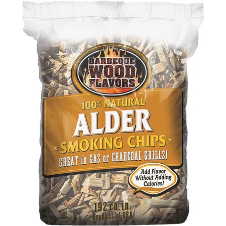 Barbeque Wood Flavors 192 Cu in Alder Chips 90305