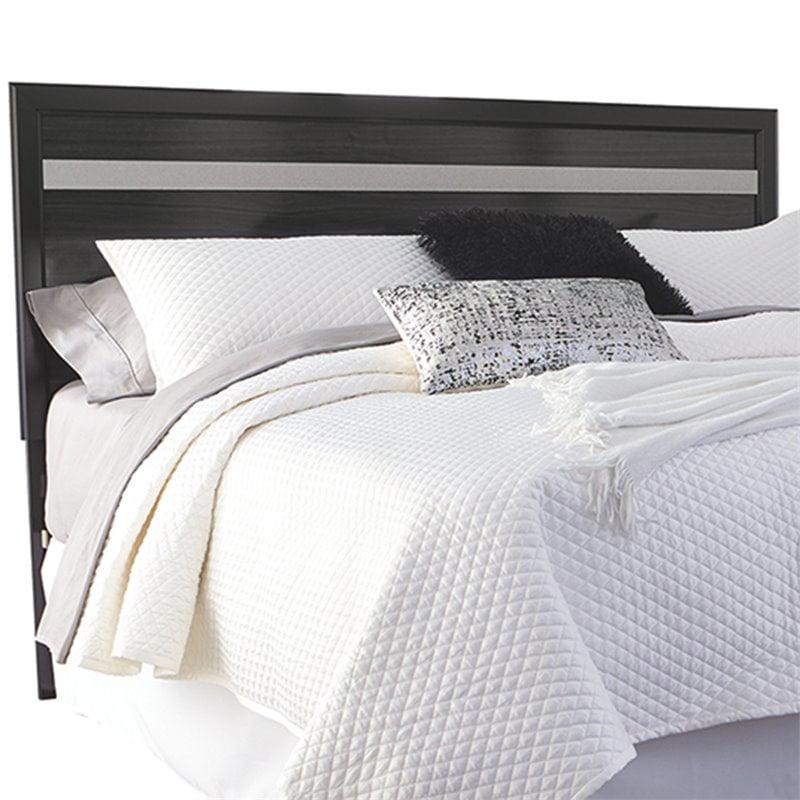 ashley furniture starberry king panel headboard in black walmart com