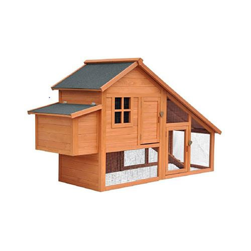 Merry Products PH0030010002 Chicken Coop, Cedar, 77 x 28.7 x 44.5-In.