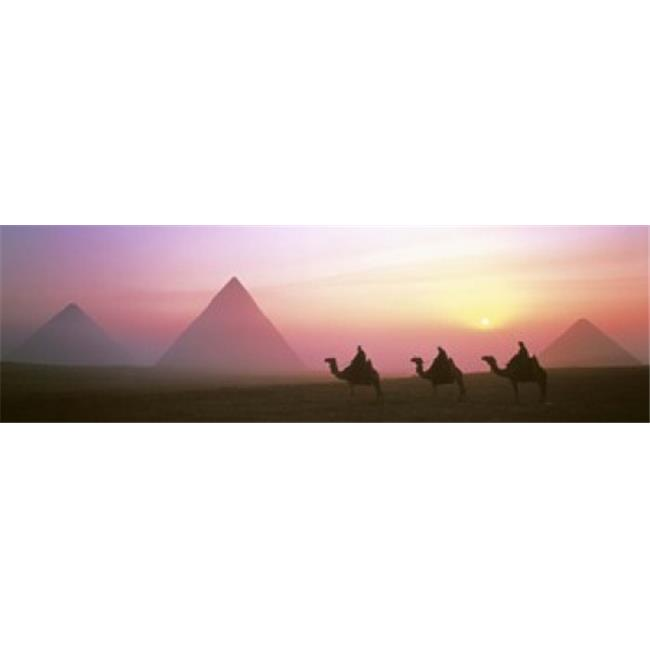 Giza Pyramids Egypt Poster Print by  - 36 x 12 - image 1 of 1