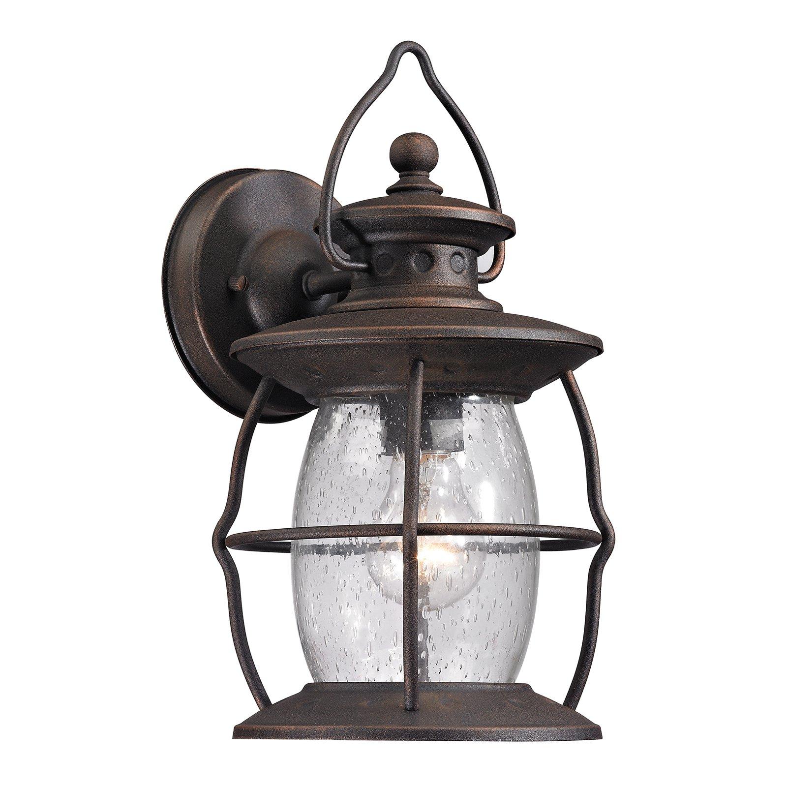 ELK Lighting Village Lantern 4704 1-Light Outdoor Wall Sconce