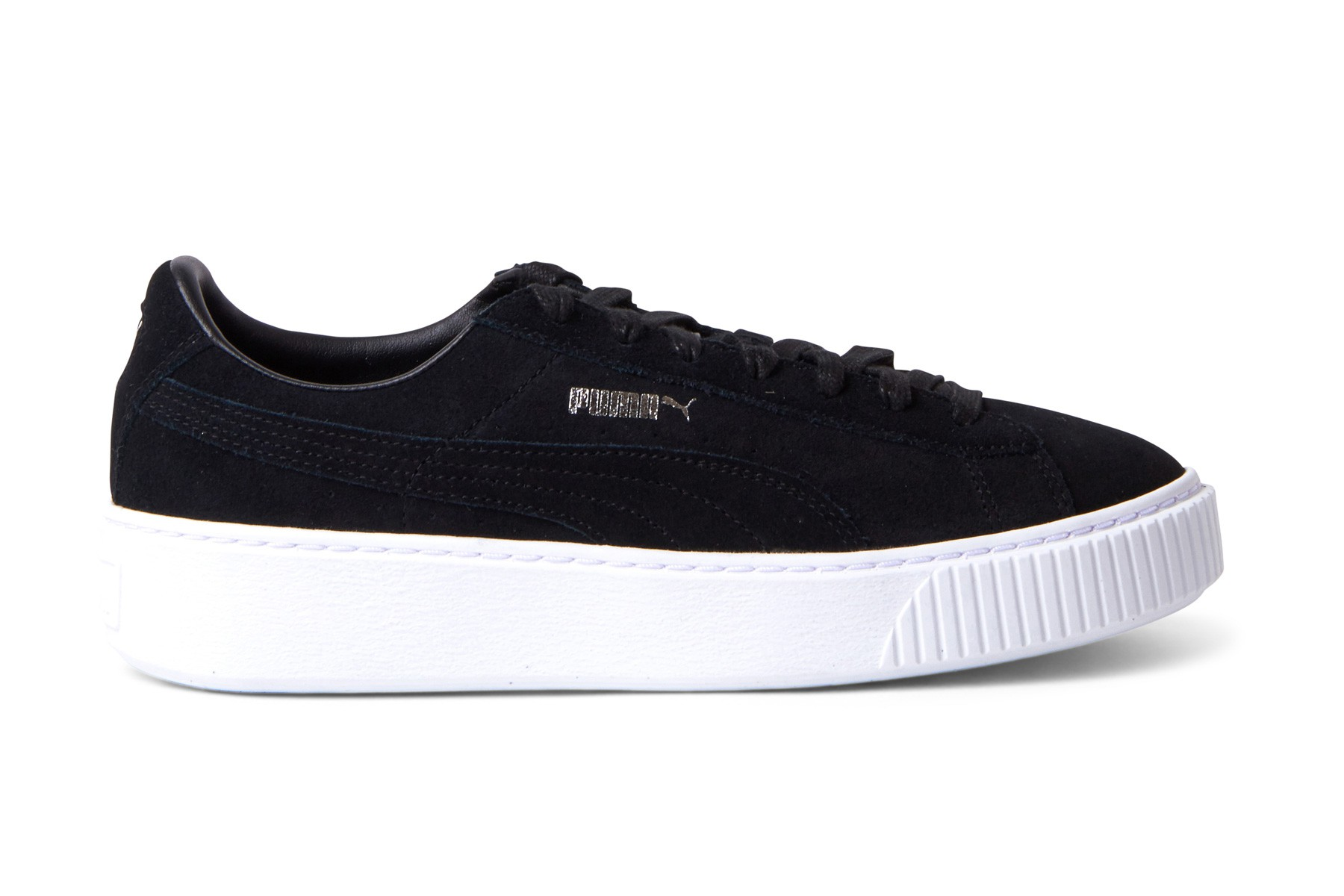 Women's Puma Black Suede Platform Economical, stylish, and eye-catching shoes