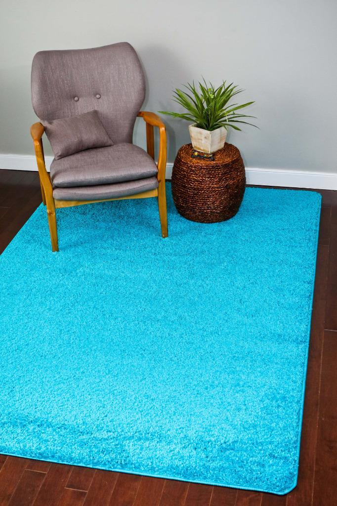 persian rugs shag 700 turquoise area rug 8x10 - Turquoise Area Rug