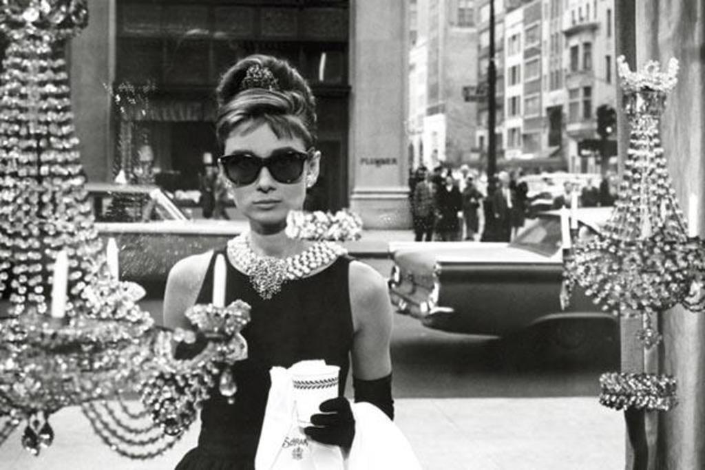 Audrey Hepburn Window Scene Breakfast At Tiffanys Holly Golightly Comedy Movie Film Poster 36x24 by
