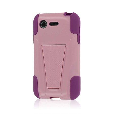 MPERO IMPACT X Series Kickstand Case for LG Optimus Zone 2 / Optimus Fuel VS415 L34C - Pink ()