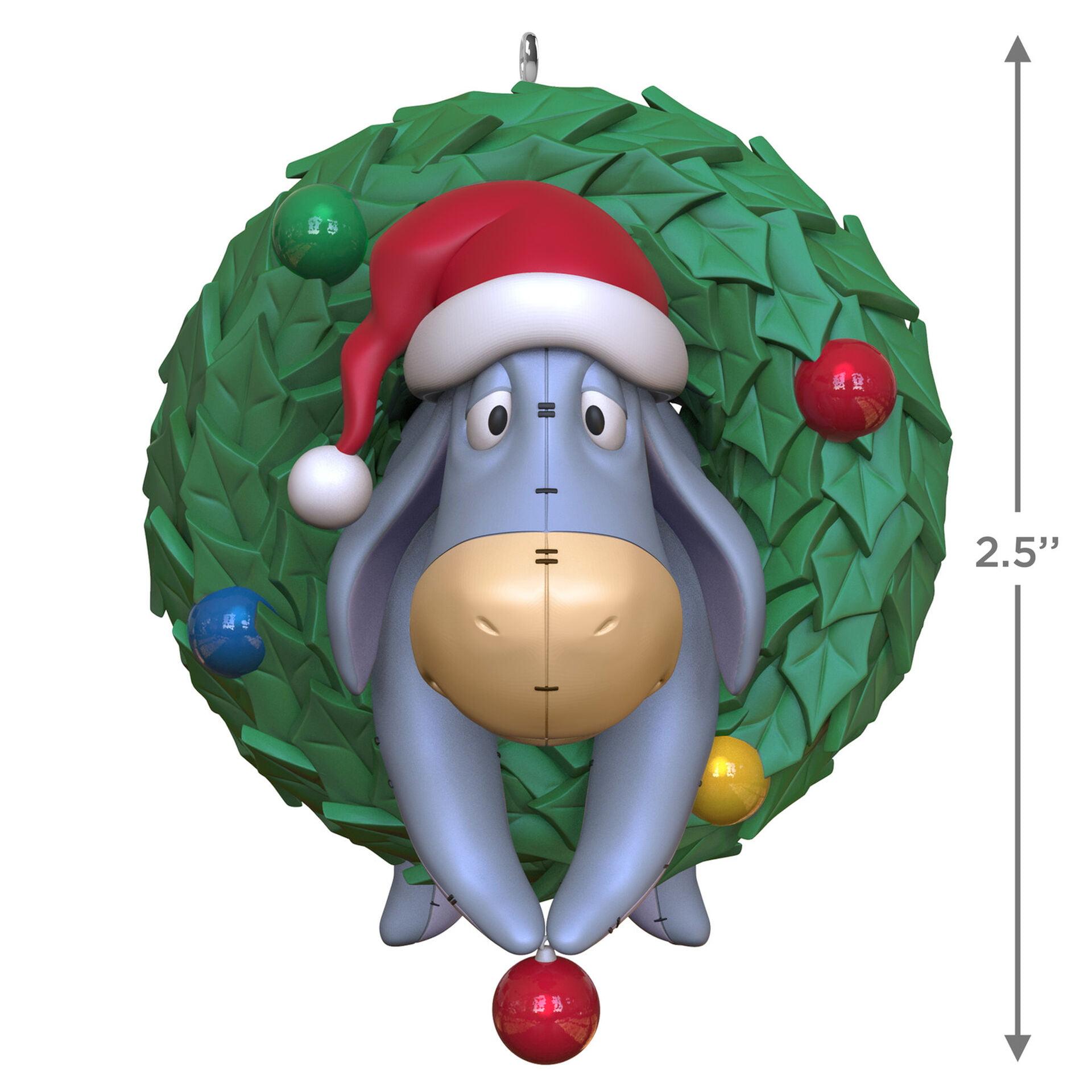 Hallmark Disney Winnie the Pooh O Eeyore Multi color Plastic Character  Ornament, 20.20