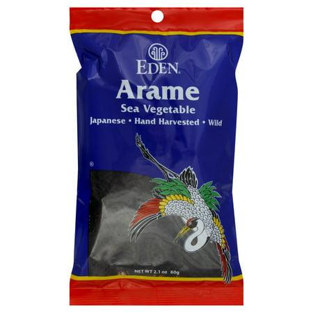 Dulse Seaweed - Eden Foods Wild Arame Seaweed, 2.1 Oz