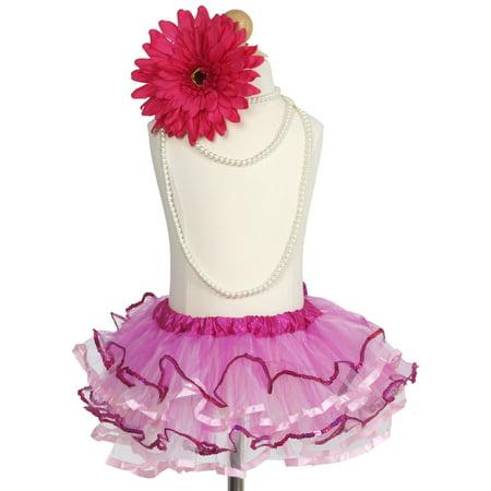 Efavormart Sweetness Pink Girls Girls Ballet Tutu Skirt for Dance Performance Events Wedding Party Banquet Event Dance Skirt](Tutu For Sale)