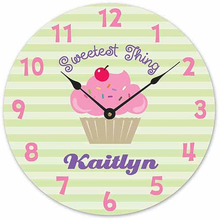 Sweetest Thing Personalized Wall Clock
