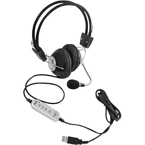Best Price SYLVANIA SBT214-BLACK Bluetooth(R) Headphones With Microphone (Black)