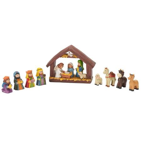 Resin Tabletop Nativity Set ()