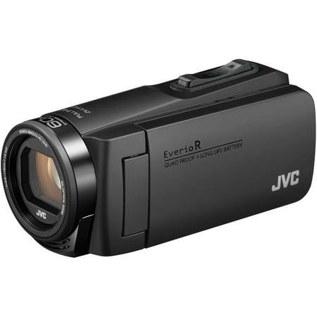 JVC Everio Quad Proof 1080p HD Video Camera Camcorder (Black) (Camera Jvc)