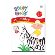 Brainy Baby� Animals in Spanish: Animales DVD by