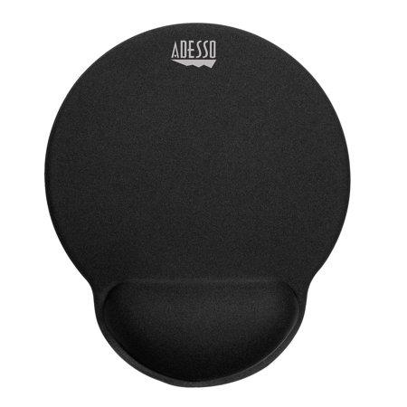 P200 Sharp - Adesso Truform P200 – Memory Foam Mouse Pad with Wrist Rest, Black