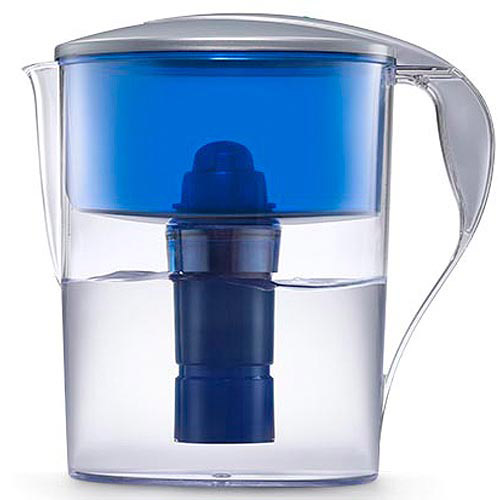 PUR 7 Cup Water Filter Pitcher with Electronic Filter Change Light CR-6000C