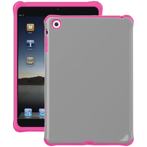 Ballistic Case for iPad Mini, Mini 2, Mini 3 w/Retina Display - Charcoal/Pink