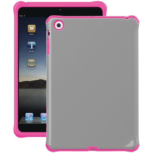 Ballistic Case for iPad Mini, Mini 2, Mini 3 w/Retina Display - Charcoal/Pink