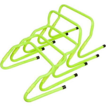 Set of 5 Adjustable Speed Training Hurdles By Trademark Innovations, Light