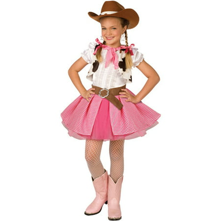 Cowgirl Cutie Child Halloween - Party City Cowgirl Costume