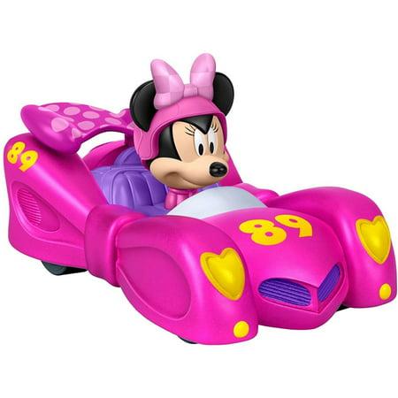 Disney Pull N' Go Pink Thunder Vehicle