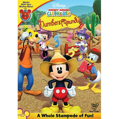 Mickey Mouse Clubhouse: Mickey's Numbers Roundup (DVD)](Dead Mickey Mouse Halloween)