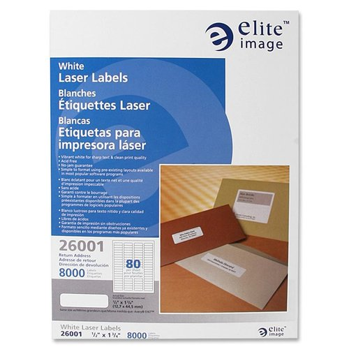 Elite Image Return Address Label