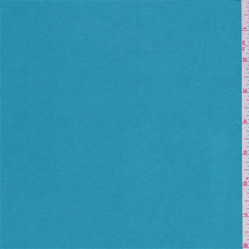 Turquoise Blue Shimmer Jersey Knit, Fabric By the Yard