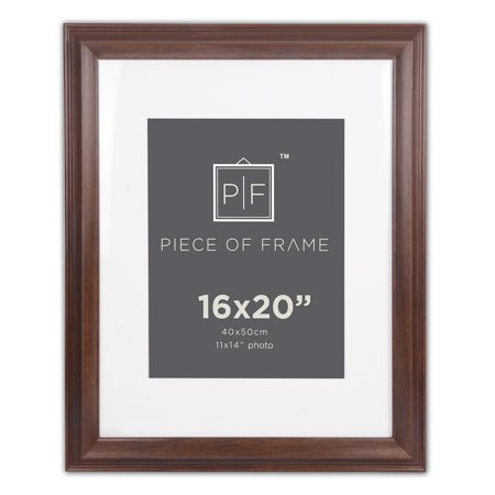 Golden State Art, 16x20 Photo Frame, 1.5 inch, with Ivory Mat for ...