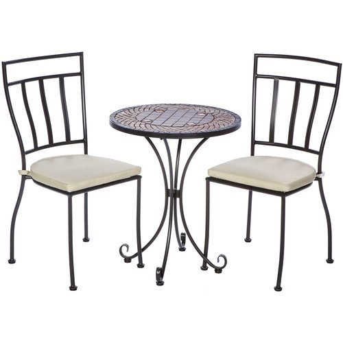 Fleur De Lis Living Boulder Brook 3 Piece Bistro Set with...