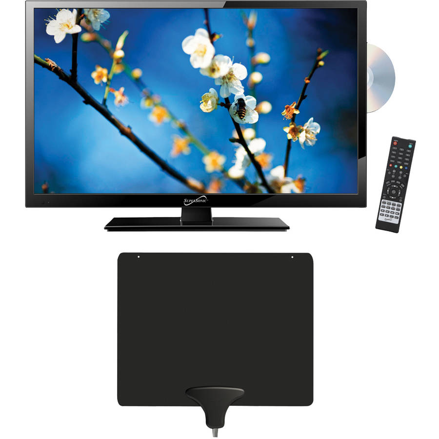 """Supersonic 22"""" Class - Full HD, LED TV/DVD Combination - 1080p, 60Hz ("""