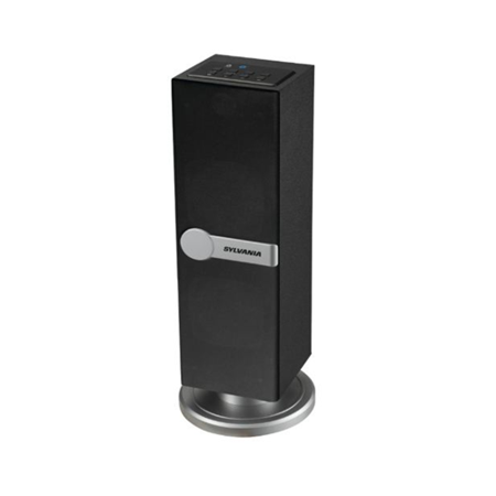 Sylvania SP269-Black Bluetooth Floor Standing Tower Speaker (Certified (The Best Floor Standing Speakers)