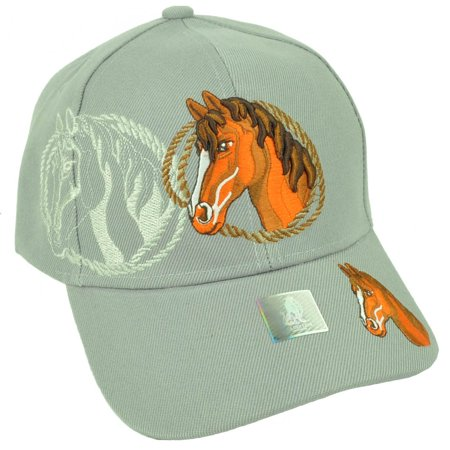 Riding Rope - Rope Horse Riding Race Rodeo Animal Mustang Adjustable Hat Cap Gray Outdoors